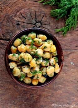 Healthy Warm Chickpea Salad