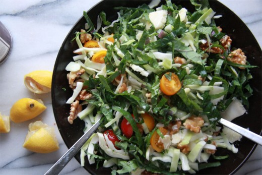 Kale Walnut Slaw Recipe
