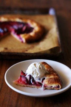 Pluot and Ginger Crostata Recipe