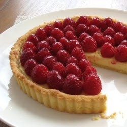 Raspberry Almond Tart