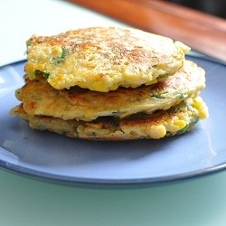 Sweetcorn and Herb Fritters