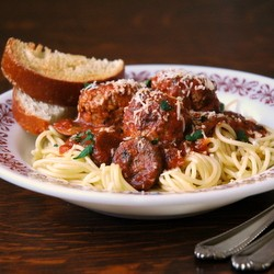 Turkey and Asiago Mushroom Meatballs Recipe