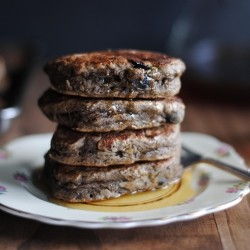 Blueberry Banana Buckwheat Pancakes Recipe