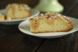 Butter Honey Almond Cake Recipe