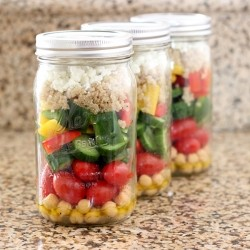 Chopped Salad in a Jar Recipe
