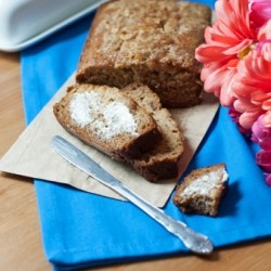 Cinnamon Almond Banana Bread Recipe