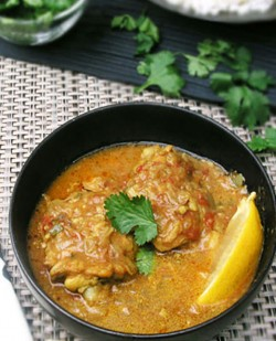 Coconut Curry Chicken Thighs Recipe