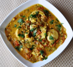 Dhaniya Egg Curry