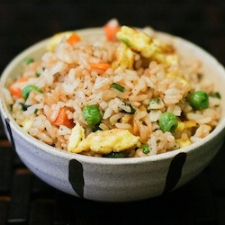 Egg and Veggie Quick Fried Rice Recipe