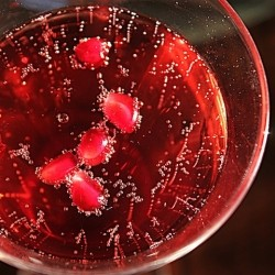 Ginger Pomegranate Martini