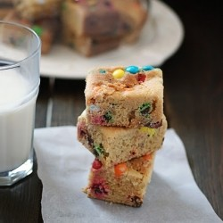 Golden MM Bars Recipe