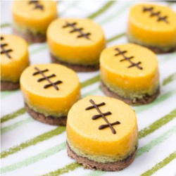Green Tea Passion Fruit Football Bar Cookies