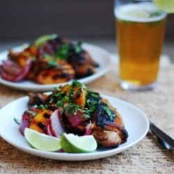 Grilled Chipotle-Honey Glazed Chicken