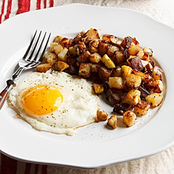 Home Fries with Chestnuts Recipe