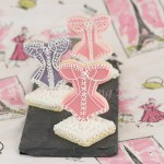 Iced Lingerie Cutout Sugar Cookies Recipe