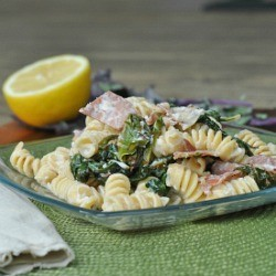 Kale Prosciutto and Ricotta Rotini Recipe