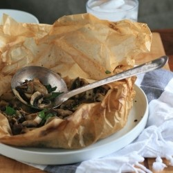 Mushrooms en Papillote Recipe
