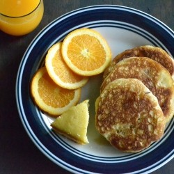 Orange Pancakes Recipe