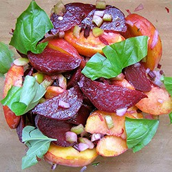 Peach and Roasted Beet Salad Recipe