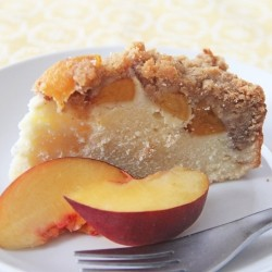 Peach Cobbler Cake Recipe