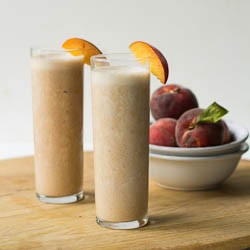 Peach Pie Protein Shake Recipe