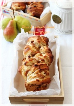 Pear Walnut Pull Apart Bread Recipe