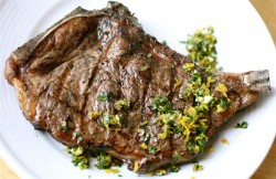 Ribeye Steaks with Gremolata