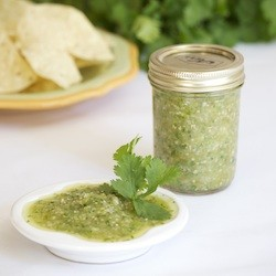 Roasted Tomatillo Salsa Recipe