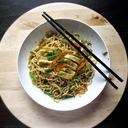 Scallion Ginger Noodles Recipe