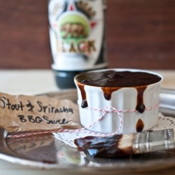 Stout Sriracha Barbecue Sauce