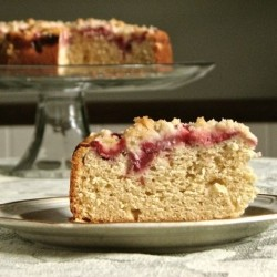 Strawberry Coffee Cake Recipe