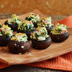 Stuffed Cremini Mushrooms Recipe