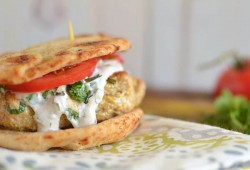 Tandoori Chicken Burgers Recipe