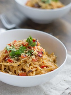 Thai Peanut Noodle Stir Fry Recipe