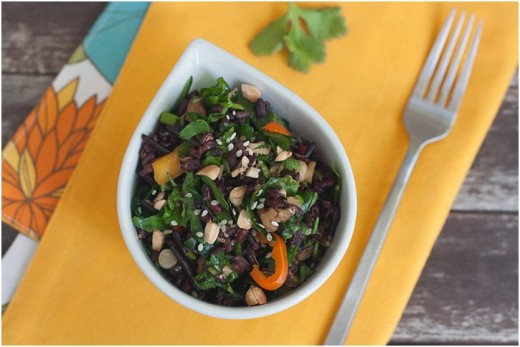Vegan Wild Rice Salad Recipe