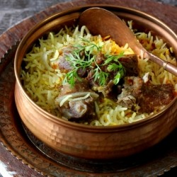 Yakhni Pulao Lamb and Rice On Pot Recipe