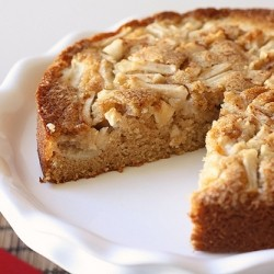 Apple Cinnamon Buttermilk Cake