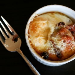 Baked Eggs with Chorizo, Sun-Dried Tomatoes, and Gruyere