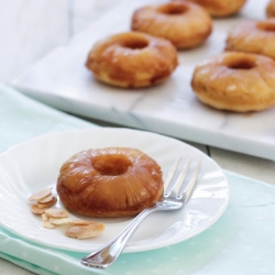 Baked Pineapple Upside Down Cake Doughnuts Recipe