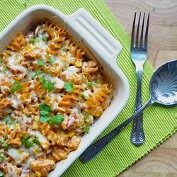 Chicken and Tomato Pasta Bake Recipe