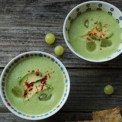 Chilled Green Gazpacho Recipe