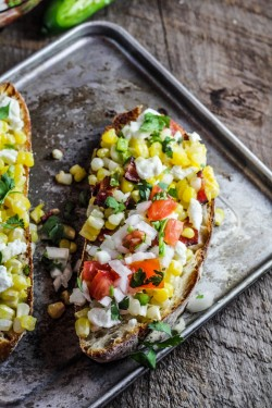 Corn Jalapeno and Goat Cheese Tartine Recipe