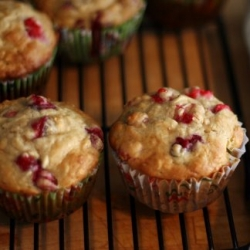 Cranberry Ginger Muffins