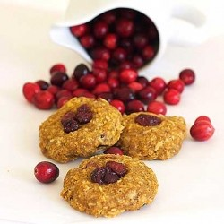 Cranberry Pumpkin Ricotta Cookies