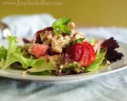 Creamy Strawberry Chicken Salad Recipe