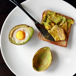 Eggs Baked in Avocado Recipe