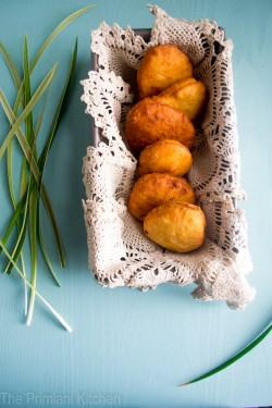 Fried Bake with Manteca and Coconut Milk Recipe
