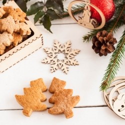 Gingerbread Cookies with Ammonia Recipe
