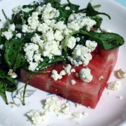 Gorgonzola Watermelon Salad Recipe