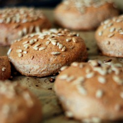 Homemade Whole Wheat Rolls